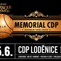 XI. Memoriál CdP Loděnice